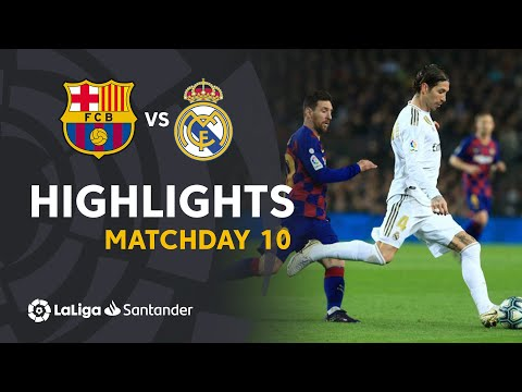 Highlights FC Barcelona vs Real Madrid (0-0)