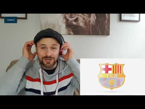 Amazing FC Barcelona Anthem Live At Camp Nou, El Clasico El Cant del Barça..Reaction