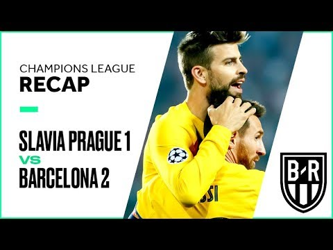 Slavia Prague 1-2 Barcelona: Champions League Recap with Goals, Highlights and Best Moments