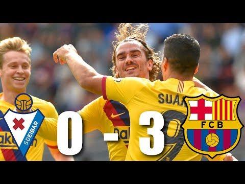 Eibar vs Barcelona [0-3], La Liga 2019/20 – MATCH REVIEW