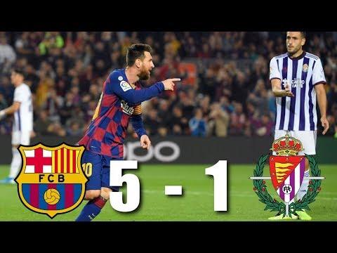 Barcelona vs Valladolid [5-1], La Liga 2019/20 – MATCH REVIEW