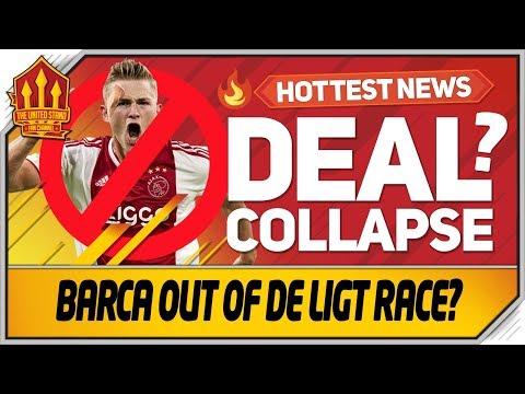 DE LIGT Transfer Latest! Man Utd OutBid Barcelona!