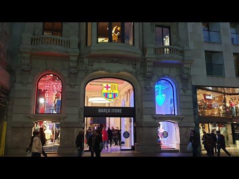 Así es una STORE BARÇA/Tienda oficial del F.C.Barcelona/Ramblas Vlogs 3