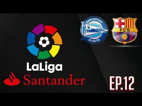 PES 2020 Master League La Liga – Barcelona vs Alaves Ep. 12