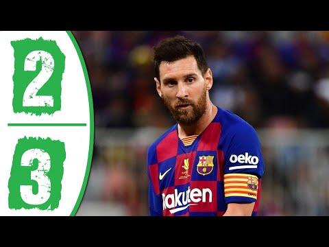 Barcelona vs Atletico Madrid 2-3 Highlights & Goals Resumen y Goles 2020