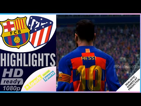 Barcelona vs Atletico Madrid | Resumen | Highlights 09/01/2020