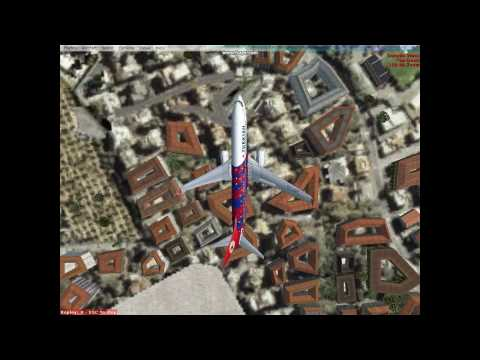 Turkish Airlines FC Barcelona Airshow Demostration Flight [FSXCat]