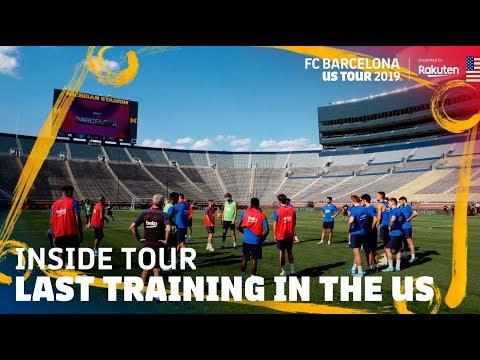 TRAINING IN THE BIGGEST US STADIUM!!! | Inside Tour USA 2019 #5