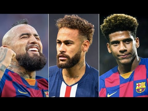 Barcelona January Transfer Window Update ft Neymar, Vidal & Todibo
