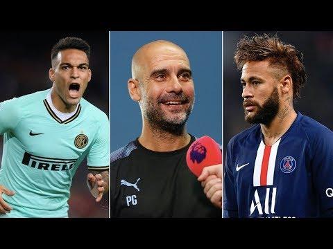 Neymar, Lautaro Martinez, Pep Guardiola to Barcelona? Transfer Rumours Ranked