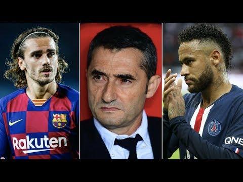 Barcelona speak out about Valverde's future, Neymar's return & Griezmann's form