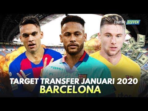 Pemain Incaran FC Barcelona Bulan Januari 2020