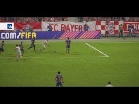 FIFA 18_ FC Bayern München gegen FC Barcelona.
