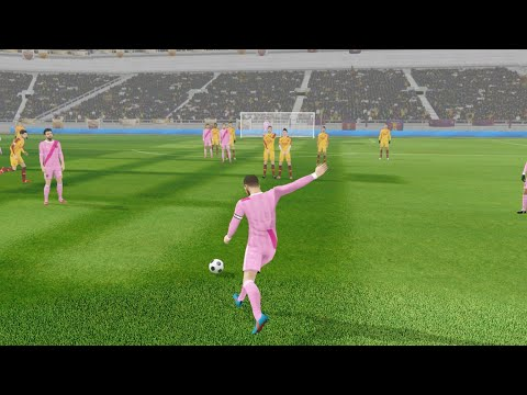 AS Roma vs Barcelona – Dream League Soccer 19 – Android Gameplay #133