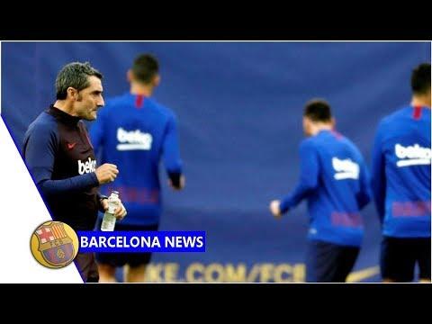 Barcelona train at Alaves' training ground ahead of Eibar clash- news now