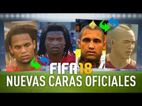 FIFA 18 NUEVAS CARAS OFICIALES