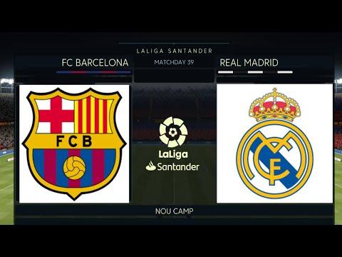 Barcelona vs  Real Madrid 2019/20 El Clasico December 18, 2019 | Full Match & Gameplay