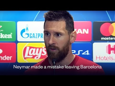 Lionel Messi thinks Neymar shouldn't have left Barcelona | Oh My Goal