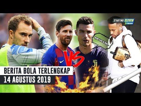 Ronaldo Sindir Messi 😱 Pejabat Barca Datang Ke Paris 😱 Gaji Eriksen Akan Naik 2X Agar Tak Kabur