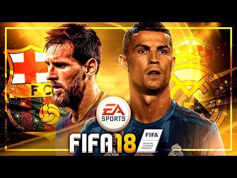 FIFA 18 Gameplay Real Madrid vs. FC Barcelona – EL CLASICO