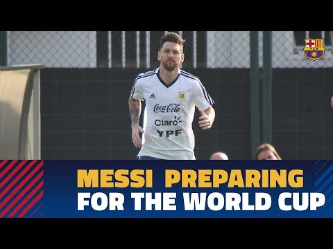 #BarçaWorldCup | Messi and Argentina continue getting ready for the 2018 World Cup
