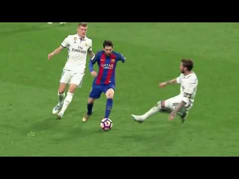 Messi vs Real Madrid || 2 Gol || El classico 24 april 2017 || Stadion Barnebeau.