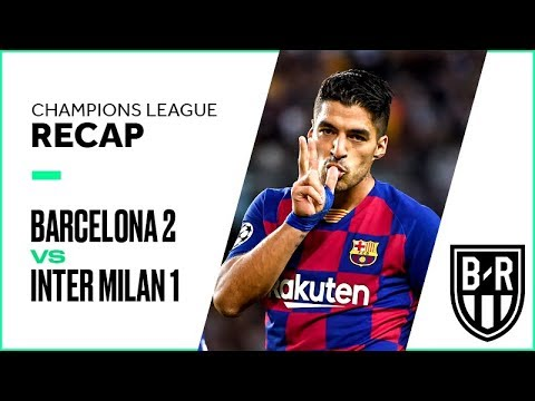 Barcelona 2-1 Inter Milan: Champions League Group F Recap with Goals and Best Moments