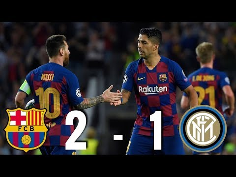 Barcelona vs Inter Milan [2-1], Champions League, Group Stage 2019 – MATCH REVIEW