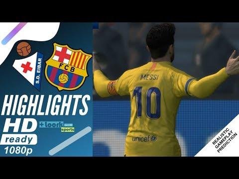 Eibar vs Barcelona – Highlights & Goals | Resumen y Goles (19/10/2019)