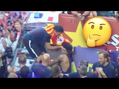 The reason why Xavi shoved Neymar in front of thousands of FC Barcelona fans in 2015 | Oh My Goal