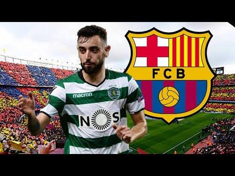 Barcelona Transfer News: Barcelona make bid for Man Utd target Bruno Fernandes  | January 2020 Live