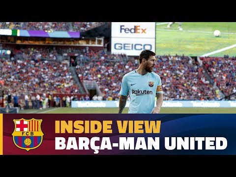 INSIDE TOUR | Behind the scenes: Barça – Manchester United (ICC 2017)
