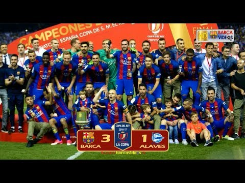 Barca 3-1 Alaves (Copa Final 2017)