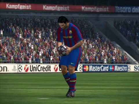 PES 2010 R.Madrid-Barca 11-10 after thrilling penalty shootout