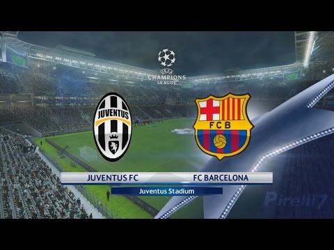 PES 2017: Juventus FC vs FC Barcelona |Champions League 11/04/2017 |SUPERSTAR – by Pirelli7