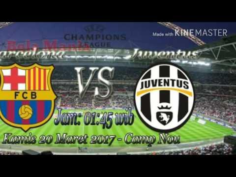 PREDIKSI Barcelona vs Juventus leg ke 2 liga champions 20 april 2017