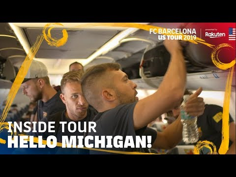 TRIP TO MICHIGAN AND AFTERNOON TRAINING SESSION | Inside Tour USA 2019 #4