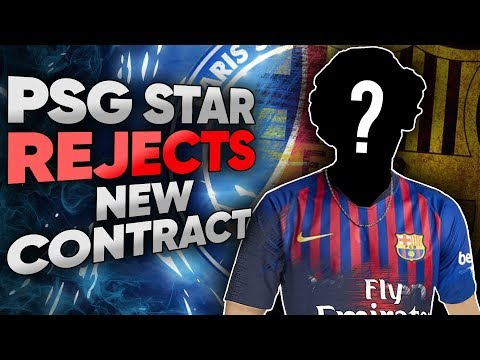 PSG Superstar REJECTS New Contract For Barcelona Transfer! | Euro Round-Up