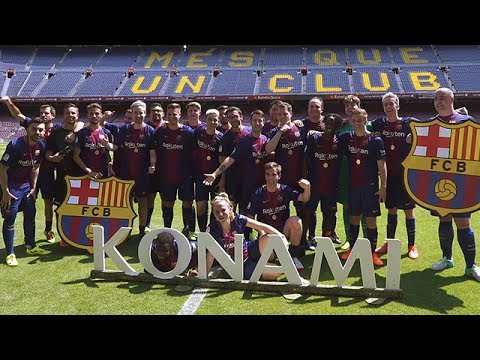 Pro Evolution Soccer 2018 – Donnie unterwegs in Barcelona im Camp Nou | Rocket Beans on Tour