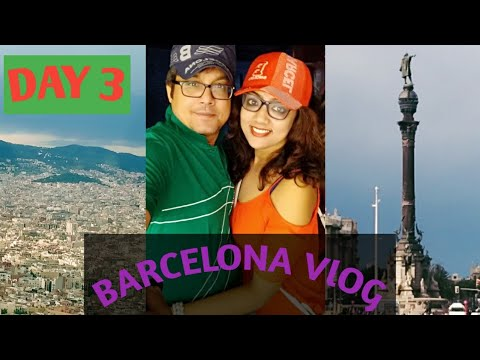BARCELONA  TRAVEL  vlog( 2018) || CAMP NOU STADIUM TOUR || FAMOUS LA RAMBLA STREET ||