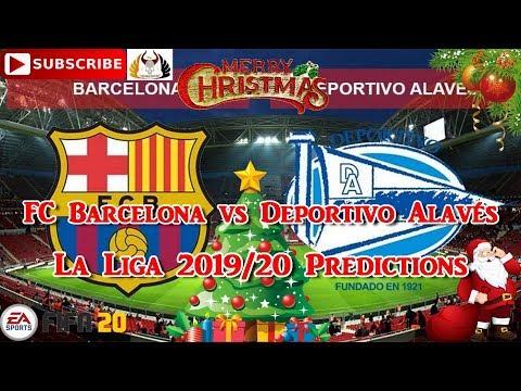 FC Barcelona vs Deportivo Alavés  | 2019-20 Spanish La Liga | Predictions FIFA 20