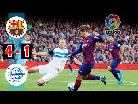 Barcelona vs Alaves 4-1 || La Liga Santander 2019 || Hasil Pertandingan Liga Spanyol 2019