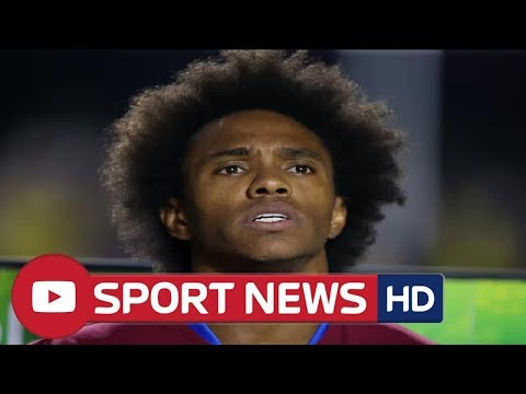 Chelsea reject £35m transfer offer from Barcelona and Atletico Madrid for Willian as scramble to kee