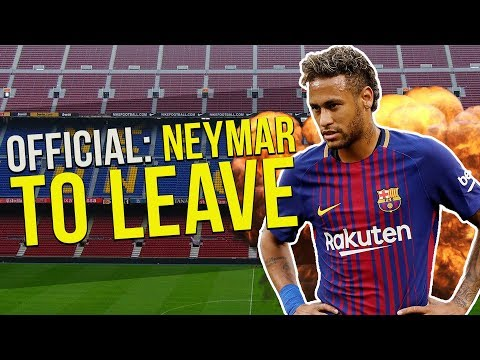 Barcelona Confirm Neymar Will Leave The Club! | Transfer Talk