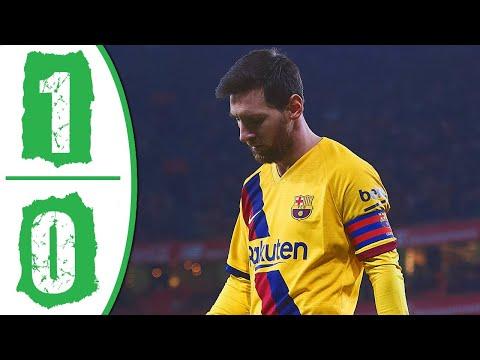 Athletic Bilbao vs Barcelona 1 0 Highlights & Goals Resumen y Goles 2020 HD