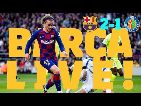 ⚽Barça 2 – 1 Getafe | BARÇA LIVE: Warm Up & Match Center #BarçaGetafe