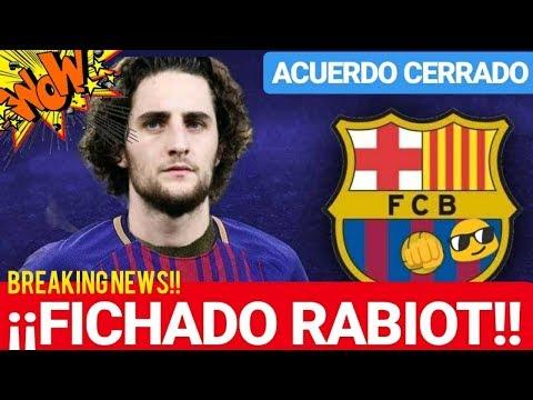 ¡¡EL BARÇA RABIOT FICHADO TOTALMENTE!! ¡BREAKING NEWS! FC BARCELONA NOTICIAS