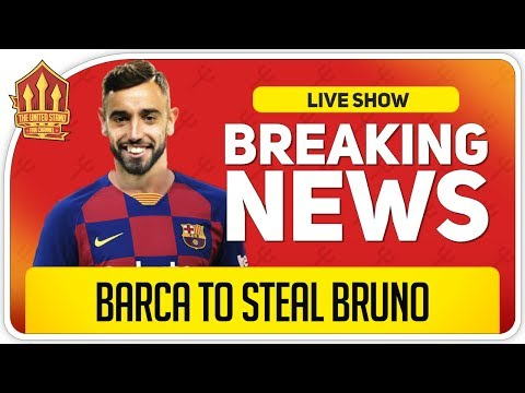 Bruno Fernandes Barcelona Bid! Man Utd Transfer News