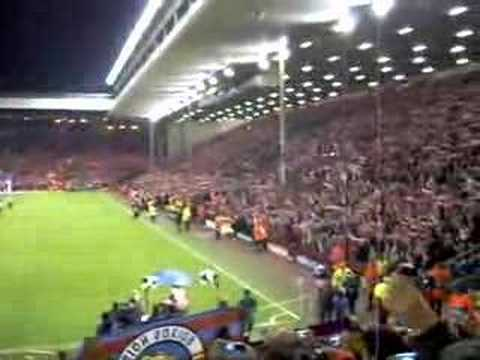 Liverpool – FC Barcelona You'll never walk alone