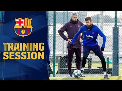 Highlights from Quique Setién's second day of training